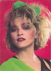 madonna 80's haircut