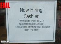 13 best images about Funny Help Wanted Ads on Pinterest ...