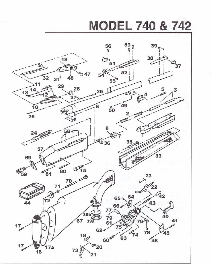 rifle ammunition diagram