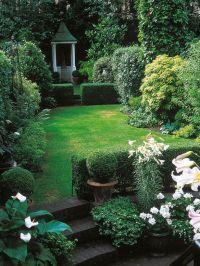 17 Best Narrow Backyard Ideas on Pinterest | Wood planter ...