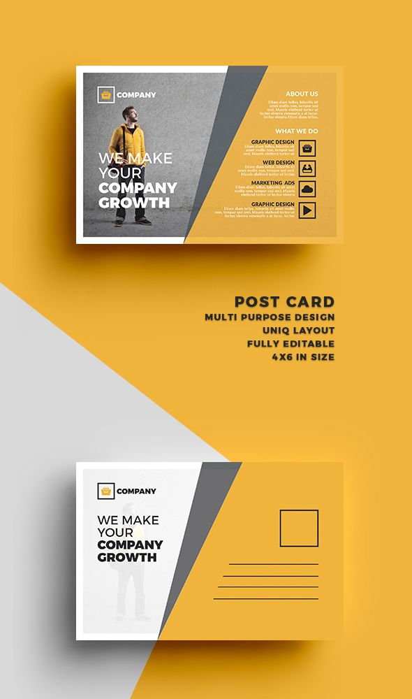 Best 25 Postcard Design Ideas On Pinterest