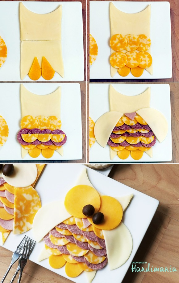 Owl Appetizer Food For Kids Pinterest Owl Meat And