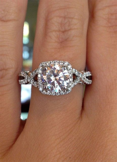 17 best ideas about Square Engagement Rings on Pinterest  Square wedding rings Dream