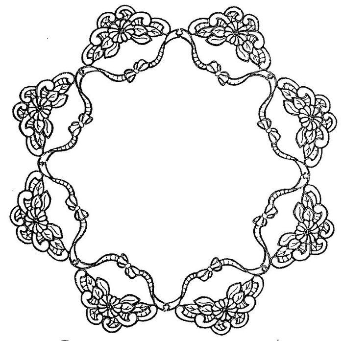 17 Best Images About Cutwork Lace