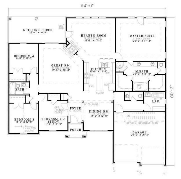 25+ best ideas about Simple floor plans on Pinterest