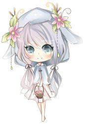 chibi anime kawaii pink manga chibis basket mamietitine google coisas wolf menina flower deviantart gosto drawings centerblog desde crown imagen