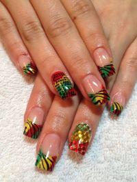 25+ Best Ideas about Jamaica Nails on Pinterest | Summer ...