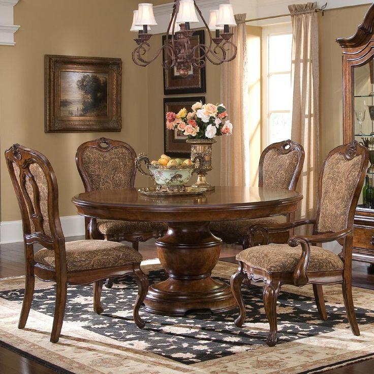 Traviata 5 Piece Round Dining Table Set By Largo