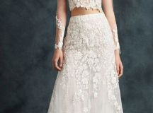 25+ best ideas about 2 Piece Wedding Dress on Pinterest ...