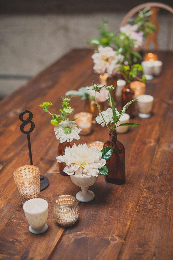 Simple Table Centerpieces