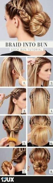 ideas easy teen hairstyles