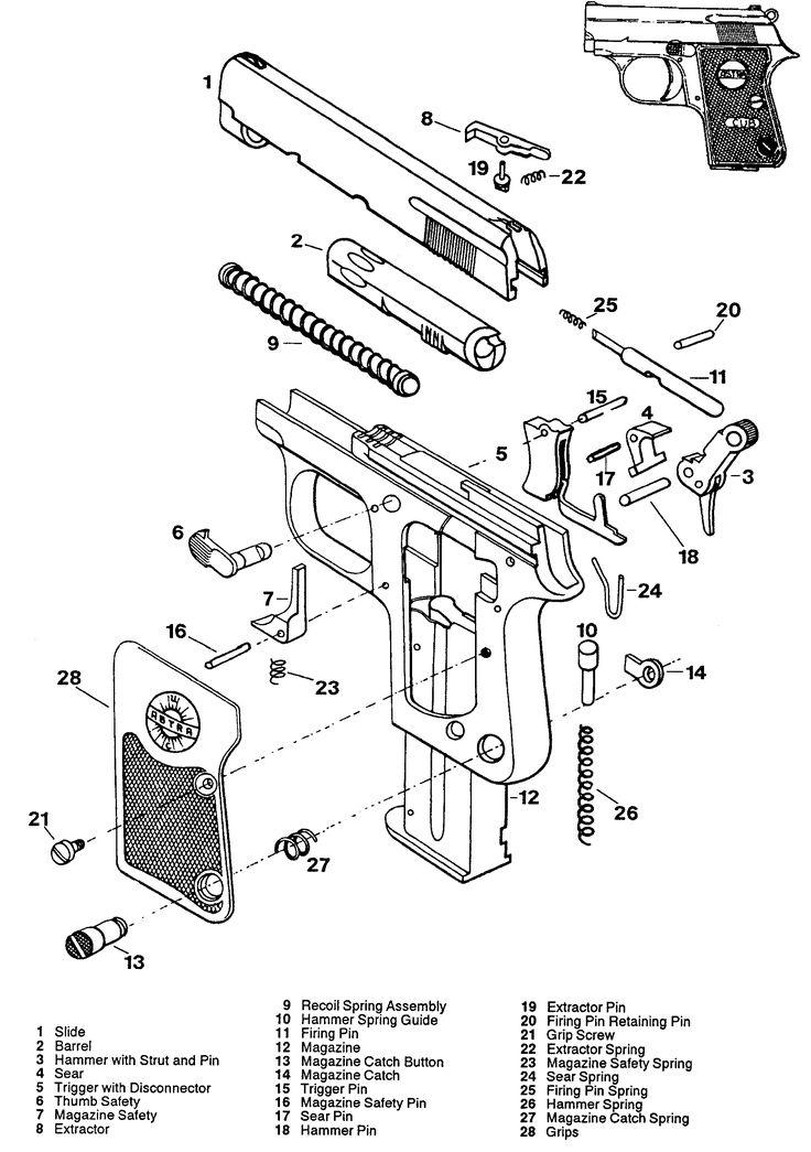Colt Pistol Schematics Photo Album Wire Diagram Images Inspirations