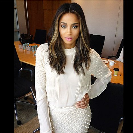 love the face framing highlights hair highlights ciara stuff to try pinterest