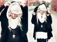 I love the snow white hair color | Beauty/fashion ...
