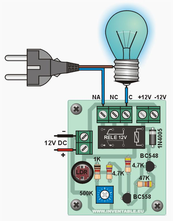 Water Tank Overflow Alarm Circuit Diagram Engineersgarage