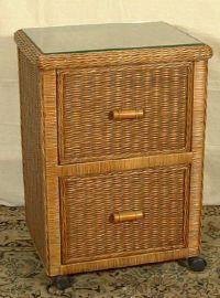 Wicker File Cabinet   Wicker Bedroom Furniture   Pinterest ...