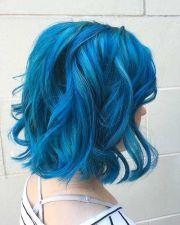 ideas blue hair