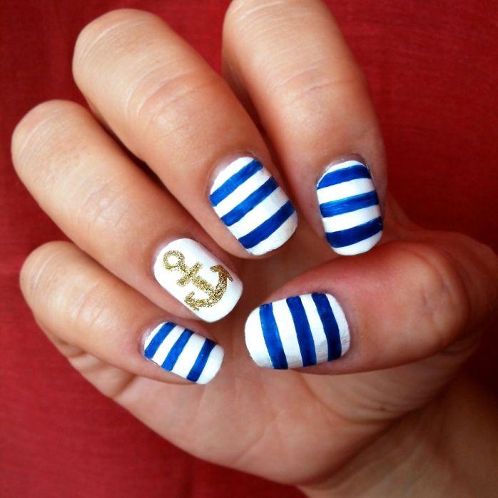 25 Best Ideas About Cute Short Nails On Pinterest Glitter