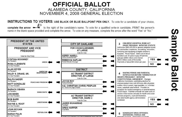 17 Best images about Ballot design on Pinterest