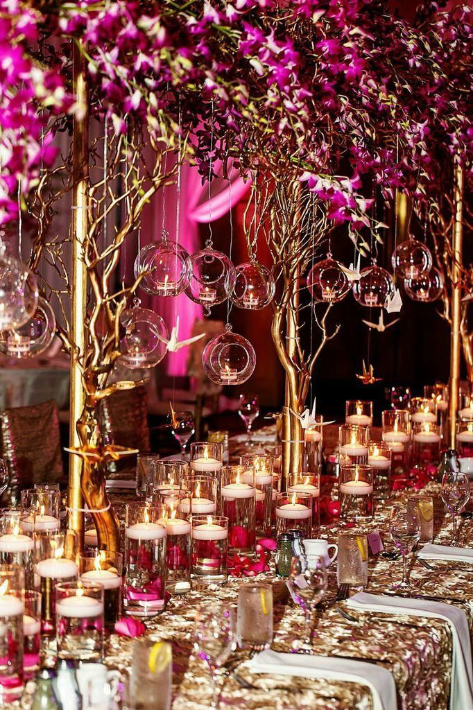 Upscale Georgia Wedding With Indian Elements At The