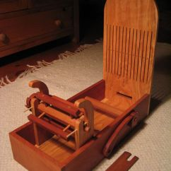 Rocking Chair Fine Woodworking High Seat For Elderly 18th Century Tape Loom - Reader's Gallery | Looms, Inkle Looms & Antique ...