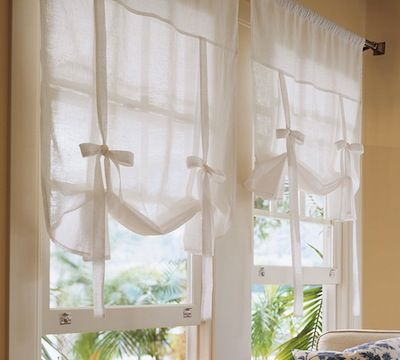 17 Best Ideas About Tie Up Curtains On Pinterest Bathroom Window