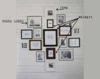 17+ images about Wall Gallery & Portrait Display Ideas on ...