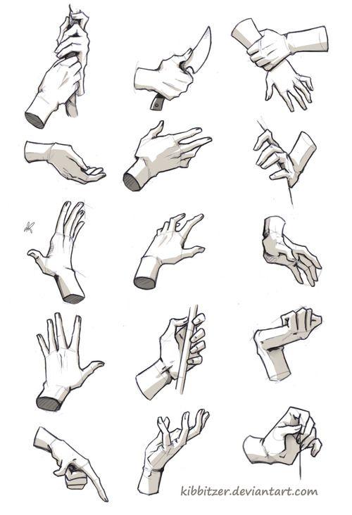 kibbi: Hands/Feet References by *Kibbitzer I hope this