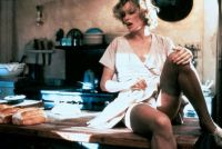 Jessica Lange behind the scenes of The Postman Always ...