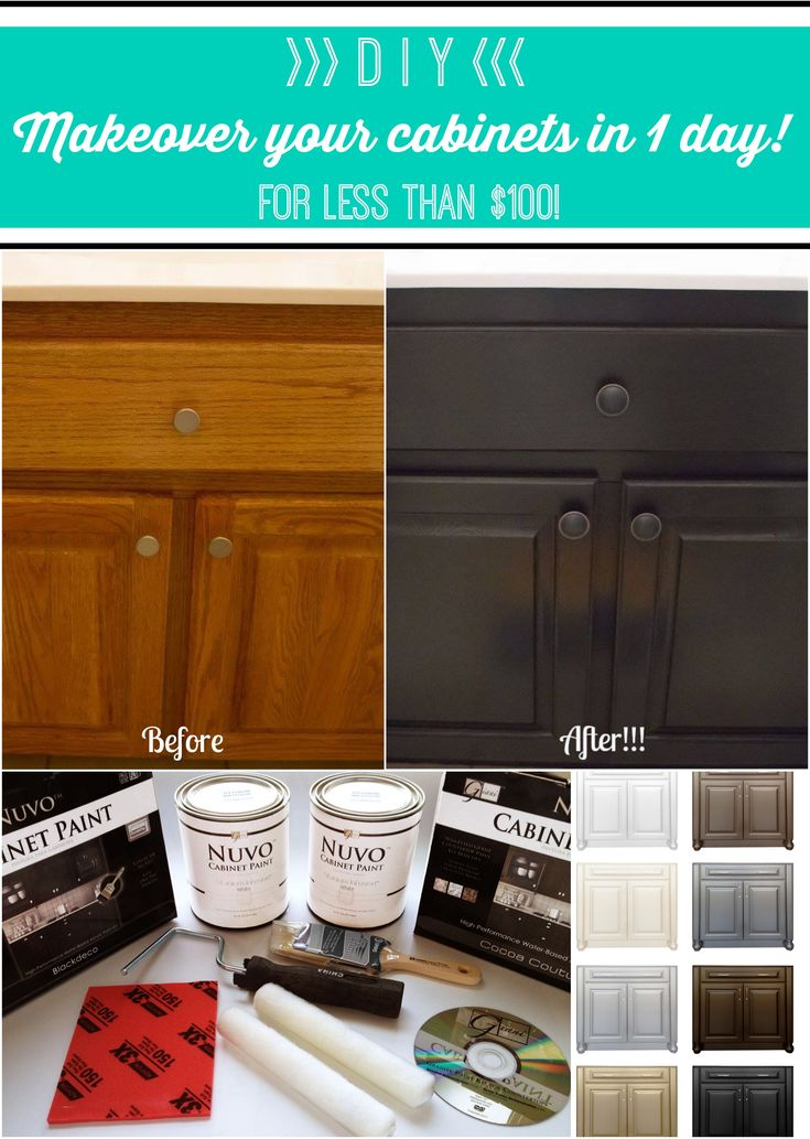 Nuvo Cabinet Paint by Giani Inc wwwnuvocabinetpaintcom