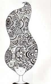 love crazy hair draw