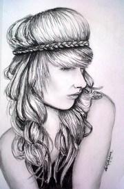 1000 hair drawings