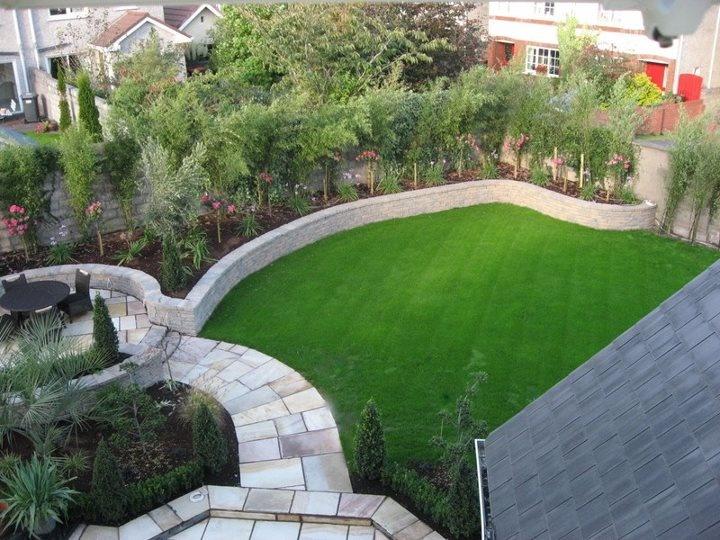 116 Best Images About Garden Design Ideas Small Rear Garden On