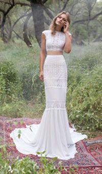 25+ best ideas about Two Piece Wedding Dress on Pinterest ...
