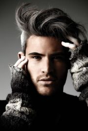 sultry with grey undercut. german