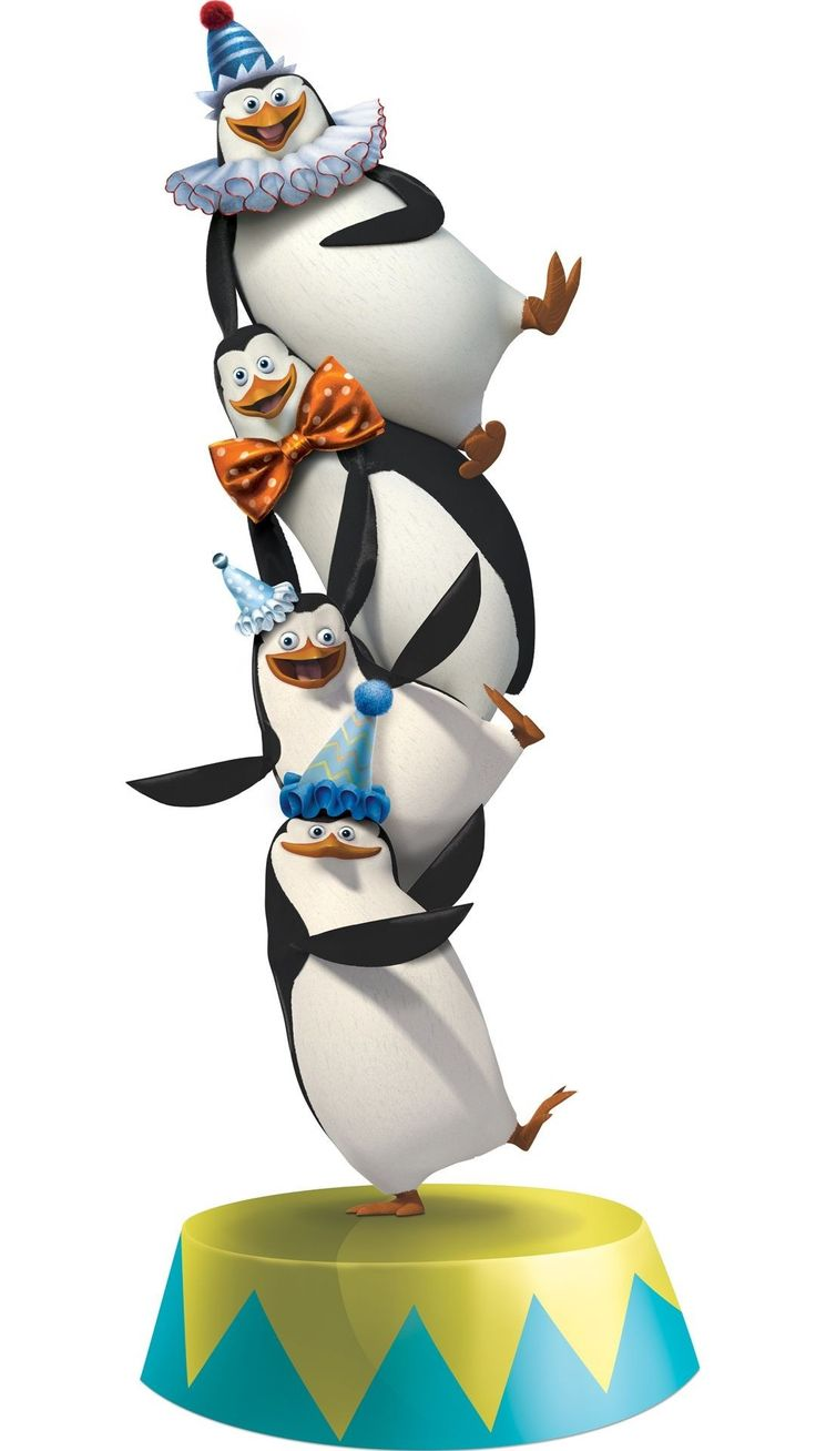3d Live Birthday Wallpaper 1080x1920 Penguins Of Madagascar Hd Mobile Wallpapers