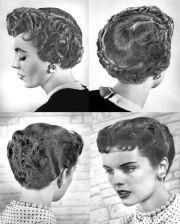 1950's hair