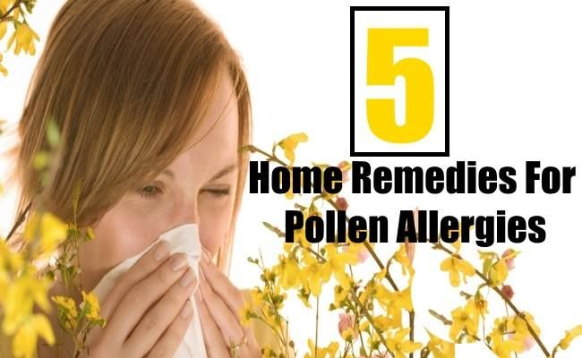 Home Remedies For Pollen Allergies | HOME REMEDIES | Pinterest ...