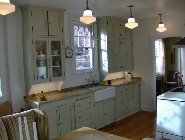 1930s Inspired Kitchen 1930s Kitchens Original 1930