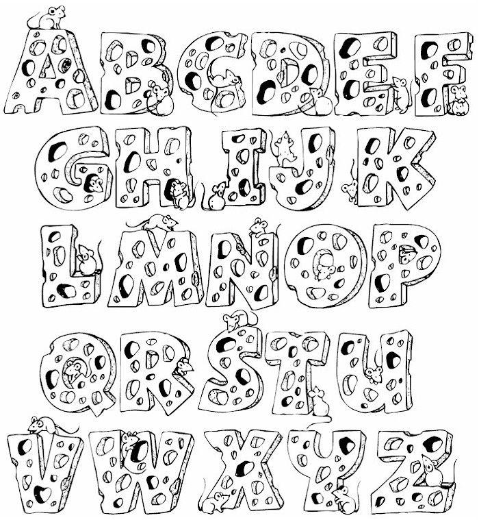 17 Best ideas about Full Alphabet Fonts on Pinterest