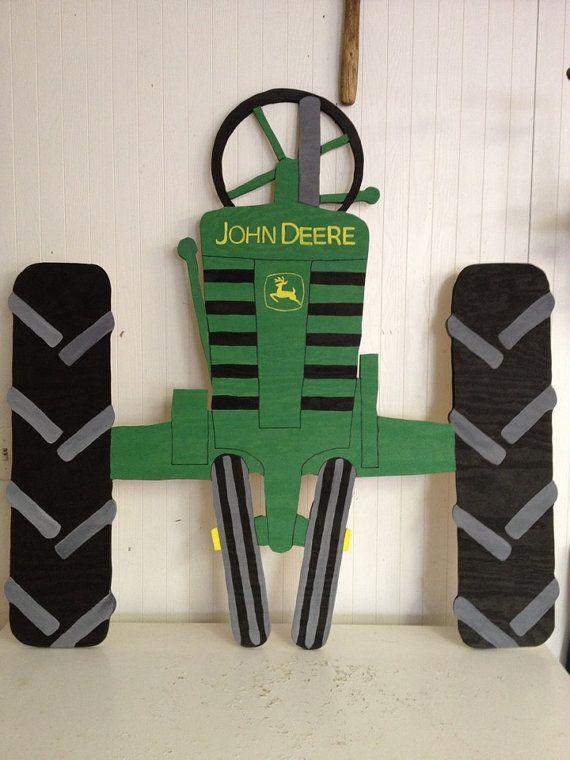 John Deere Tractor Fence Ar