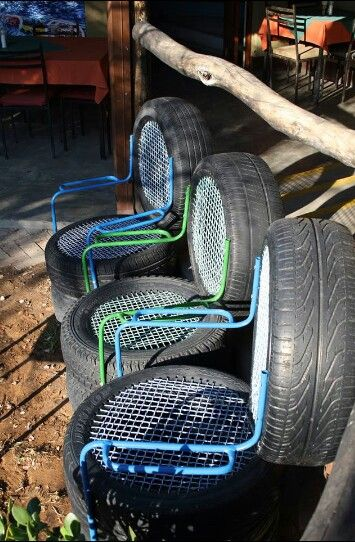 Best 25 Tyre seat ideas on Pinterest  Tire seats Tyres