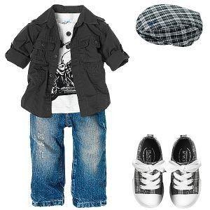 OMG camo baby boy clothes