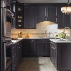 Diy Kitchen Counters White Stools Corina Maple Graphite By Thomasville Cabinetry ...