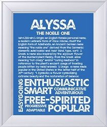 Alyssa | Meaning of Names | Pinterest | Babies