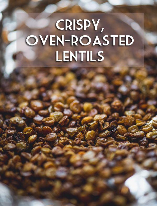 Crunchy Garlic Lentil
