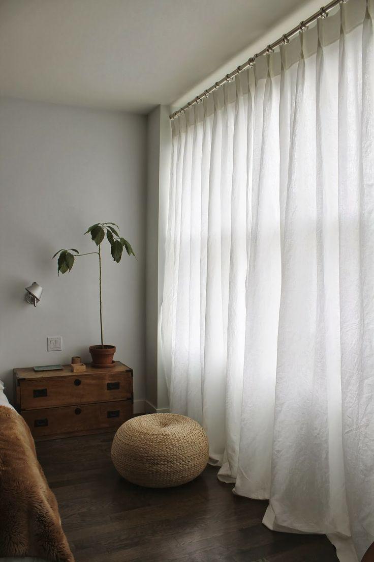 1000 ideas about White Linen Curtains on Pinterest  Linen curtains White linens and Linens