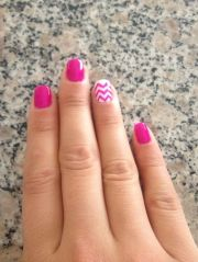 chevron nail design instagram
