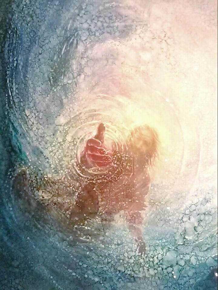 The Hand of God  Dr who Christ and Savior