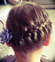 girls hair style - shot